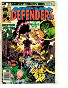 Lot of 7 The Defenders Marvel Comics # 77 115 116 117 118 119 120 122 EK4