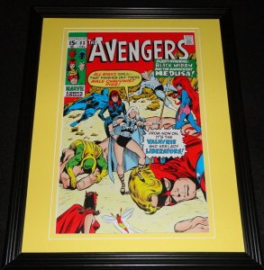 Avengers #83 Black Widow Medusa Framed Cover Photo Poster 11x14 Official Repro
