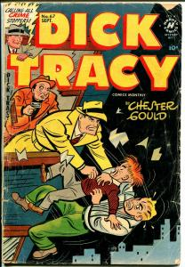 Dick Tracy  #67 1953-Harvey-Chester Gould-G