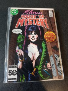 ​ELVIRA'S HOUSE OF MYSTERY #1 VF+ HARD TO FIND