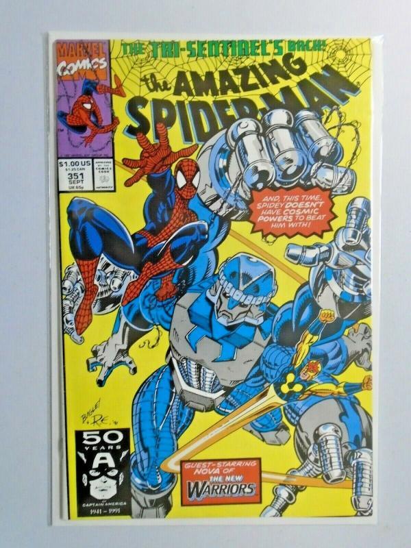 Amazing Spider-Man #351 1st Series 6.0 FN (1991)