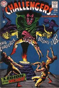 Challengers of the Unknown (1958 series) #62, Fine (Stock photo)