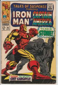 Tales of Suspense #95 (Nov-67) VG+ Affordable-Grade Iron Man, Captain America