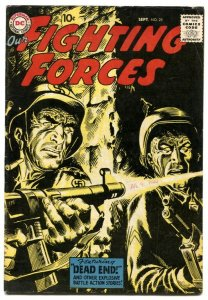 Our Fighting Forces #25 1957-DC Silver Age War comic FN