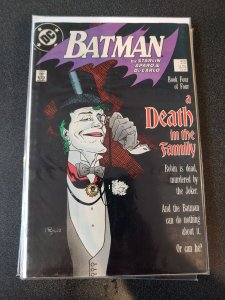 BATMAN #429 (1988) DC COMICS MIGNOLA COVER A DEATH IN THE FAMILY Book 4 JOKER!