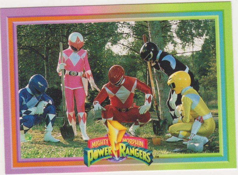 1994 Mighty Morphin Power Rangers #65 Searching for Clues