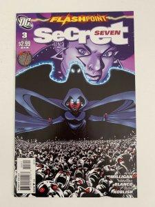 Flashpoint: Secret Seven #3 in Near Mint + condition. DC comics