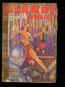 PLANET STORIES-WINT 1943-GEORGE GROSS-FRANK GODWIN-PULP G