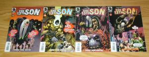 the 13th Son #1-4 VF/NM complete series - monster vs wendigo, vampires, zombies