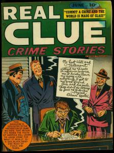 Real Clue Crime Stories Vol. 3 #4 1948- Golden Age comic G/VG