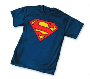 SUPERMAN SYMBOL T-SHIRT X-LARGE GRAPHITTI DESIGNS NEW