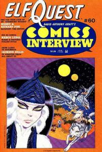 Comics Interview #60 VF/NM; Fictioneer | save on shipping - details inside