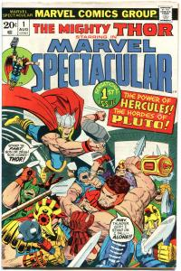 MARVEL SPECTACULAR #1 2 3 4 5 6 7, Jack Kirby, Hercules, Thor, 1973, 7 issues