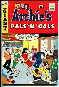 Archie's Giant Series #30 1964-Betty-Veronica-Archie's Pals 'n' Gals-VG