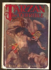 Tarzan The Terrible-Hardback Book Storage 1950's-handmade-one of a kind