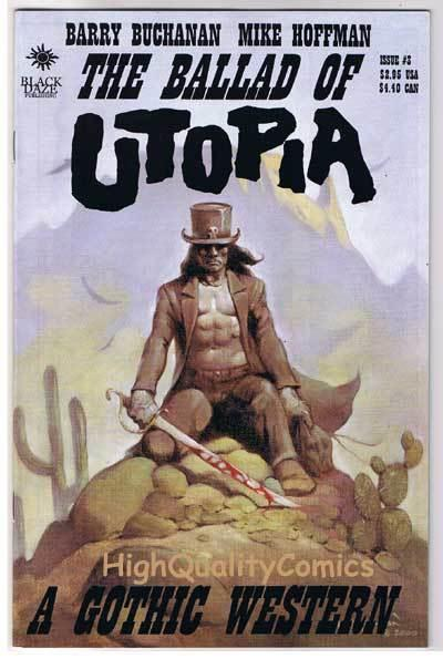 BALLAD of UTOPIA 3, VF+, Gothic Western, Mike Hoffman, 2000,more indies in store