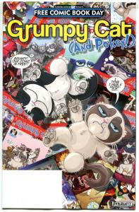 GRUMPY CAT and POKEY, NM, FCBD, more Promo / items in store, 2016, Dynamite
