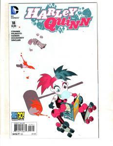 Harley Quinn # 18 NM 1st Print Variant Cover DC Comic Book Batman Joker J325