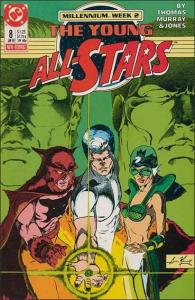 DC THE YOUNG ALL-STARS #8 VG/FN