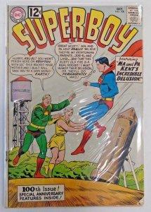 *Superboy Volume 1 #100-104 (5 books)