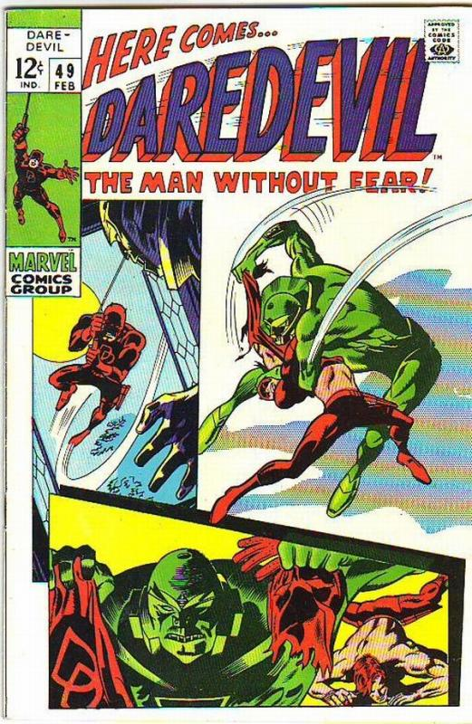 Daredevil #49 (Feb-69) FN/VF Mid-High-Grade Daredevil