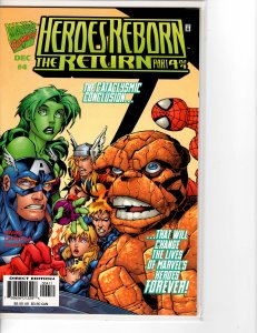 Heroes Reborn the Return (1997) #4 NM- (9.2)