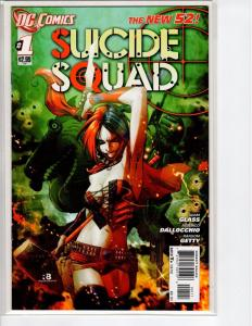 Suicide Squad #1A (4th Series) 1st Print 9.8? CGC it (2011)