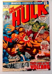 Incredible Hulk #170 Marvel 1973 VF- Bronze Age Comic Book 1st Print