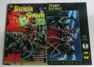Batman-Spawn War Devil & Spawn-Batman Frank Miller Todd McFarlane DC Image