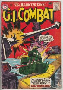G.I. Combat #105 (May-64) VG/FN Mid-Grade The Haunted Tank
