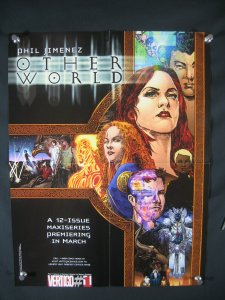Other World DC Comics Promo Poster 2005 22x17
