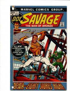 Lot Of 8 Mixed Comics Doc Savage, Elf Quest, X-men, Alpha Flight, Spiderman  WS4