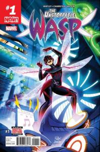 Unstoppable Wasp #1, NM (Stock photo)