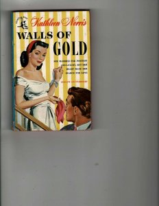 3 Books Walls of Gold Stranger in my Bed Tropical Passions Romance Fiction JK31