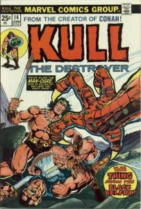 Kull the Conqueror (1971 series) #14, Fine+ (Stock photo)