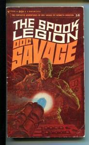 DOC SAVAGE-THE SPOOK LEGION-#16-ROBESON-vg- JAMES BAMA COVER- VG
