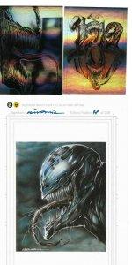 Venom Holofoil & Mini-Print Set AP signed by Gorkem Demir