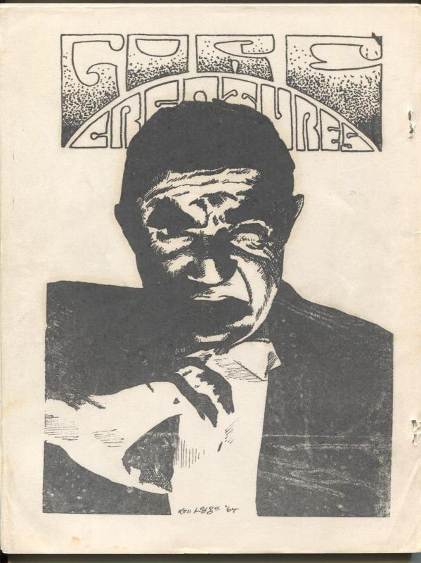 Gore Creatures #14 1968-early horror movie fanzine-Hammer Films-G/VG