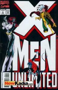 X-Men Unlimited (1993 series) #4, NM- (Stock photo)