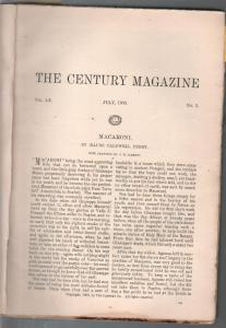 Century Illustrated Monthly 7/1900-Max Field Parrish-Oliver Cromwell-pulp format
