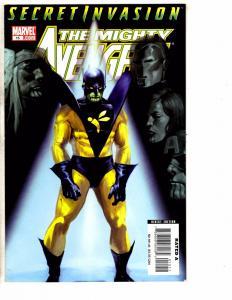 7 Mighty Avengers Marvel Comic Books # 15 23 24 25 26 27 28 Hulk Thor Wasp RC13