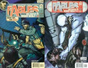 FABLES (2002 VERTIGO) 28-29 War Stories Complete