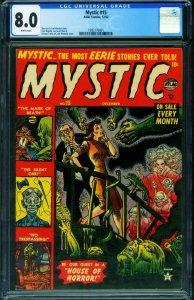 MYSTIC #15 CGC 8.0-atlas horror-pch-John Romita art-1992176001