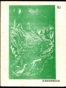 Xenophile #30 1977-top pulp collector fanzine-for sale ads-150 page issue-FN-