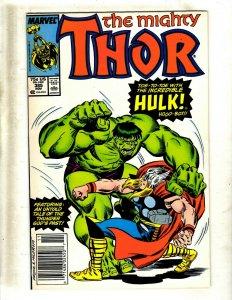 12 Thor Comic Books #385 389 390 392 393 394 395 396 397 399 400 Annual #12 GB2