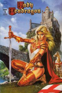 Lady Pendragon (Vol. 2) #1A VF/NM; Image | save on shipping - details inside
