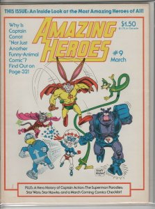 AMAZING HEROES #9 F A05014