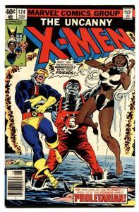 UNCANNY X-MEN #124 comic book 1979-MARVEL COMICS-PROLETARIAN ISSUE VF-