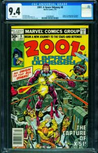 2001: A SPACE ODYSSEY #8 CGC 9.4 1st MACHINE MAN-2006680005