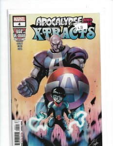Marvel Comics Age of X-Man Apocalypse and the X-Tracts #4 First Print  NW01